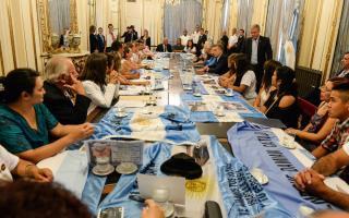 ARA San Juan: Macri anunció recompensa a quien encuentre el submarino tras recibir a familiares