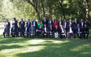 Macri presentó su gabinete. Foto: Infobae