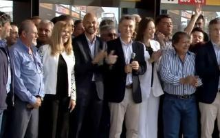 Macri y Vidal encabezaron el acto en La Matanza.