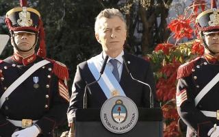 Macri comparó a los próceres con su gobierno.