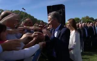Macri y Vidal visitaron Saladillo.