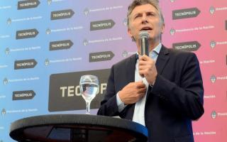 Macri inauguró Tecnópolis 2016.