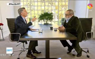 Mauricio Macri brindó una entrevista con Jorge Lanata.
