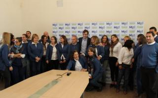 Peluso anunció beneficios para municipales de Magdalena.