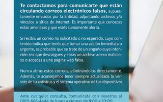 """Estafas por mail: Banco Nación alerta por """"phishing"""" a sus clientes"""