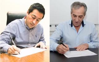 Malvinas Argentinas: Nardini y Cariglino confirmaron sus candidaturas