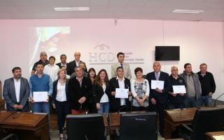 El Concejo Deliberante de Zárate reconoció a Veteranos de Malvinas
