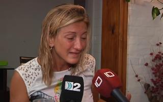 Verónica Borelli se quebró al recordar a su hija.