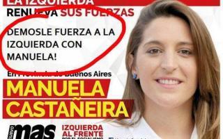 Manuela Castañeira denunció una campaña en su contra.