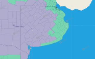 """Ola de calor: Se extiende advertencia """"violeta"""" por temperaturas altas en Provincia. Fuente: SMN"""