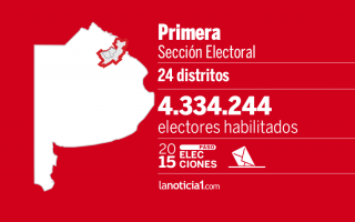 La primera sección es la segunda más importante en cantidad de votantes habilitados.