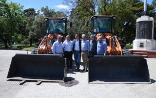Denunciaron al Ejecutivo sobreprecios en la compra de maquinaria vial. Foto: Prensa