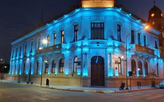 Mario Secco iluminó el municipio