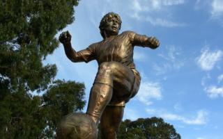 El monumento de Bahía Blanca inaugurado en 2006.