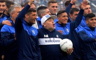 Diego Maradona dejaría de ser el director técnico de Gimnasia de La Plata