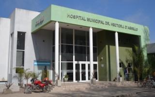Tres de los positivos están internados en el Hospital Municipal