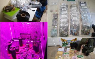Desbaratan organización transnacional con laboratorio (Gendarmería)