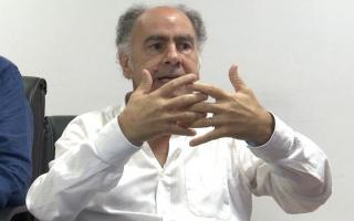 Mario Cafiero expone ante Diputados por videoconferencia.