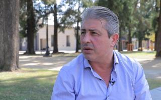 El intendente de Pergamino Javier Martínez