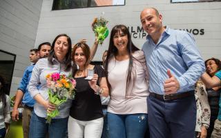 Molina anunció incrementos en el sueldo de municipales. Foto:Prensa