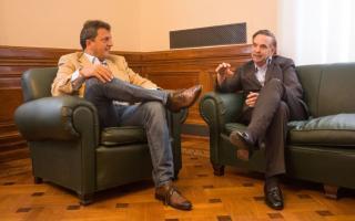 El rearmado del peronismo: Sergio Massa se reunió con Miguel Ángel Pichetto