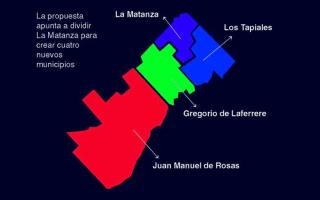 Nuevo proyecto para dividir La Matanza en cuatro municipios ingresó a la Legislatura