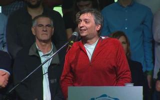 Máximo Kirchner habló de los abusos en La Cámpora.