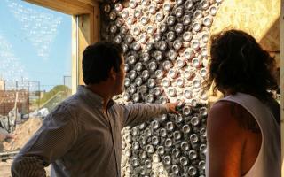 Mar Chiquita: Abad y Ronda visitaron la primera escuela sustentable del país