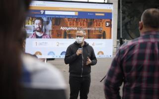 Tres de Febrero lanza un mercado virtual para comerciantes locales