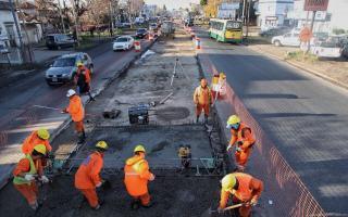 Piden finalizar la obra del Metrobus en Florencio Varela.
