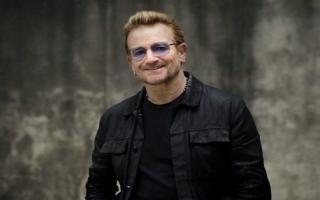 Bono le envió su apoyo a la familia Maldonado. Foto:Twitter