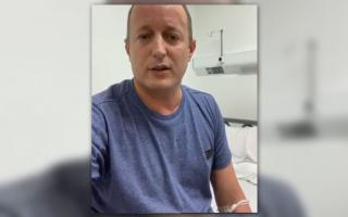 Martín Insaurralde de alta hospitalaria