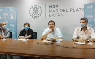 """Segunda ola Covid: """"No estoy de acuerdo con prohibir la circulación pero hay que acatar"""", dijo el intendente de Mar del Plata"""