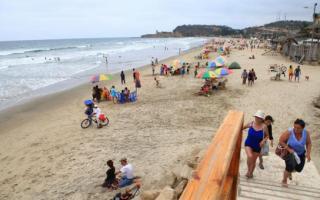 El pueblo balneario ecuatoriano es furor entre los jòvenes. Foto: El Comercio.