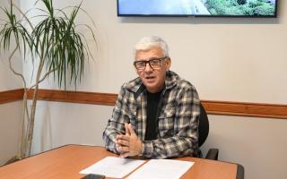 Alejandro Dichiara es el intendente de Monte Hermoso