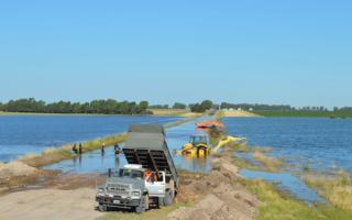 El objetivo de la obra es prevenir inundaciones