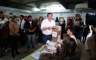 Guillermo Montenegro retuvo Mar del Plata para Juntos por el Cambio.