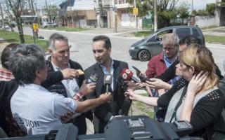 Tagliaferro habló sobre las amenazas de bomba. Foto: Un Medio en Morón.
