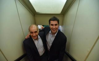 Salvador y Mosca en el encuentro de Cambiemos en Tandil.