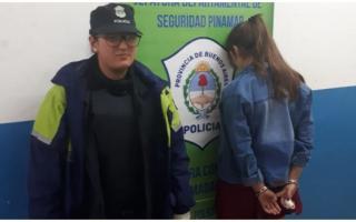 Madariaga: Atacó el auto de su ex, invitó a pelear a la policía y fue detenida. Foto: Magdalena
