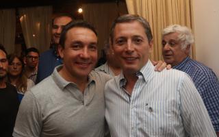 Watson fue uno de los participantes de la reunión del Partido Justicialista en la ciudad de Santa Teresita. Foto: Prensa