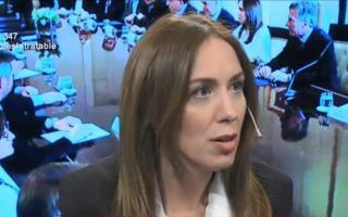 Vidal salió a contestarle al exgobernador provincial del kirchnerismo. Foto: Clarín
