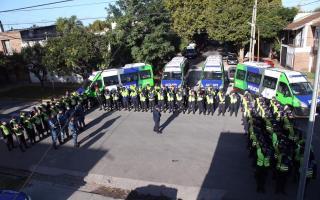 Incorporan cien nuevos efectivos policiales en Quilmes