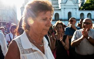 Sara Garfunkel, madre del fiscal fallecido. Foto: NA
