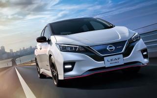 El Nissan LEAF llega a Argentina en el primer semestre de 2019. Foto: Prensa