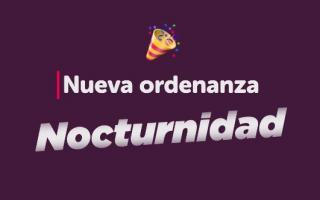 Proyecto de ordenanza para regularizar las fiestas nocturnas