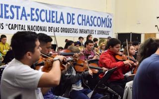 La Orquesta escuela de Chascomús, patrimonio cultural inmaterial de la Provincia