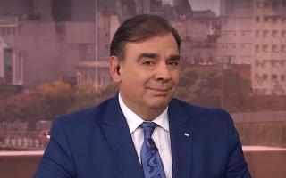 El conductor Luis Otero se despidió de Canal 13 para ser candidato a intendente de Avellaneda