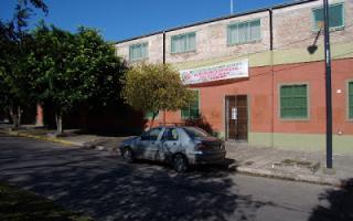 Nueva amenaza de bomba a un colegio, esta vez en el colegio Monseñor Alberti. Foto: Prensa