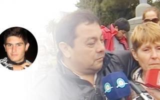 Los padres de Galeano reclamaron justicia por la muerte de su hijo.